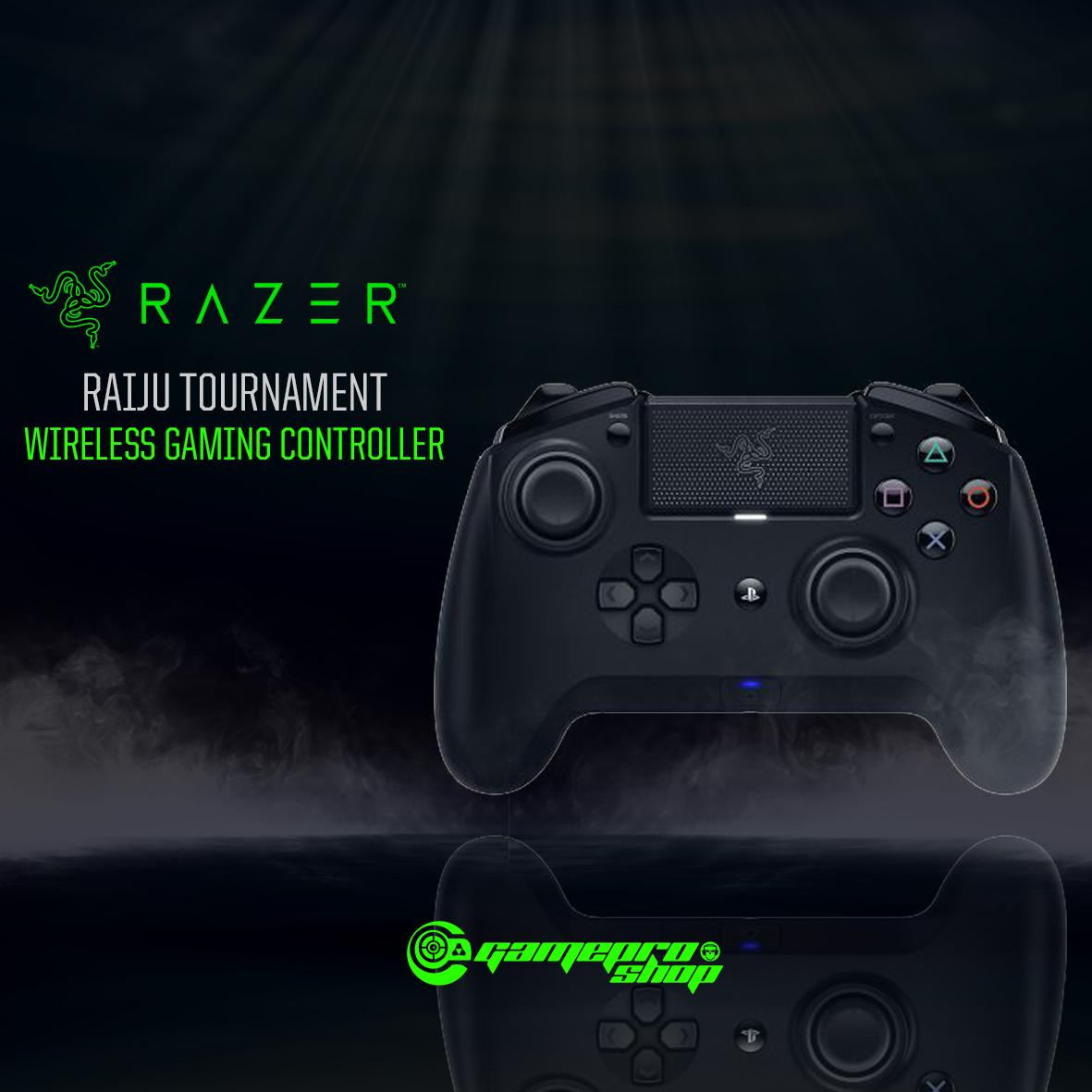 Razer Raiju Tournament Edition Wireless Gaming Controller *gss Promo* By Gameprosg (capitaland Merchant).