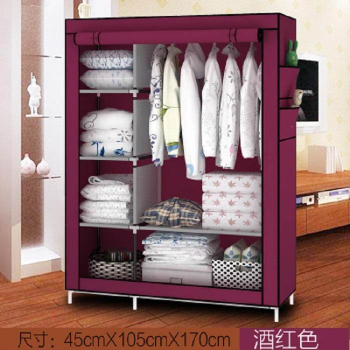 Fabric Steel Frame Storage Cabinet MWT11