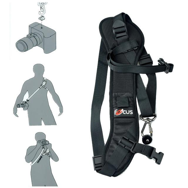 Hot Dedicated Photography Focus F-1 Anti-Slip Quick Rapid Shoulder Sling Belt Neck Strap For Camera - Intl By Yw Store.