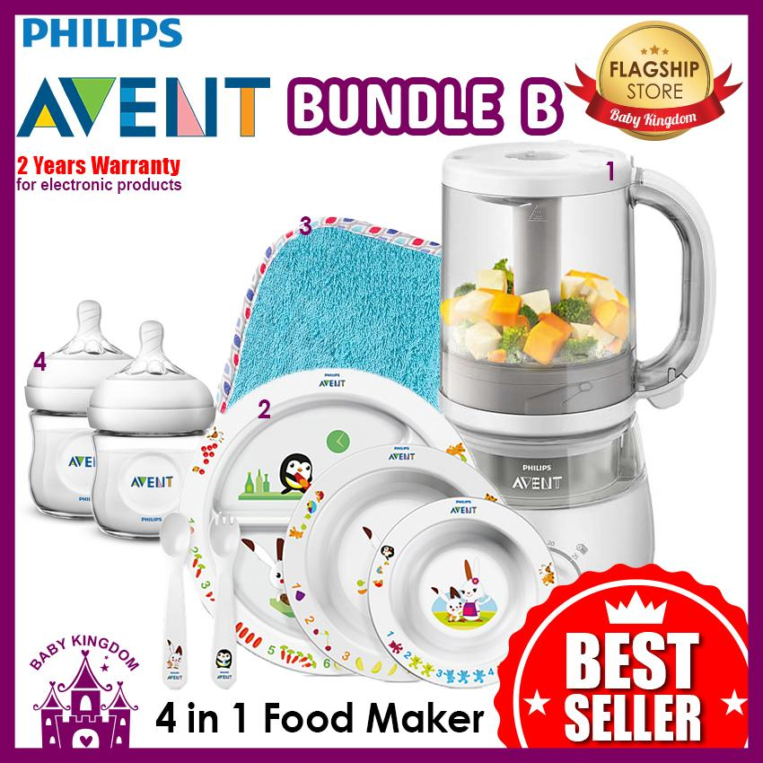 Sale Philips Avent 4 In 1 Healthy Baby Food Maker Bundle B Online Singapore