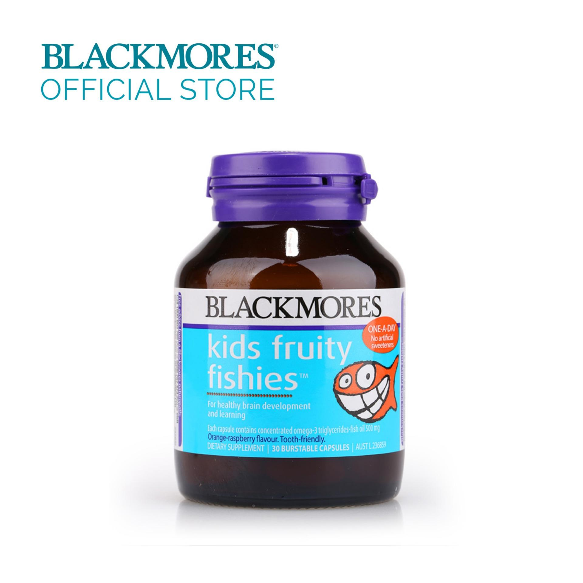 Blackmores Kids Fruity Fishies 30s By Blackmores Official Store.
