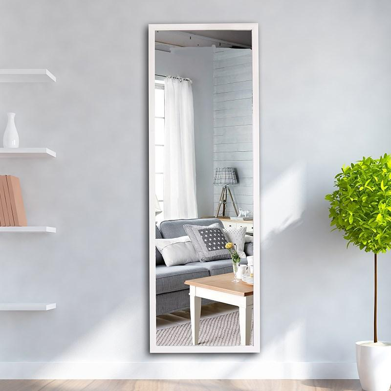 New Style I Guess Shes Great Mirror Full Body Household Dressing Mirror Full Body Wall Hangers Mirror against the Wall Dressing Mirror Simple Dormitory
