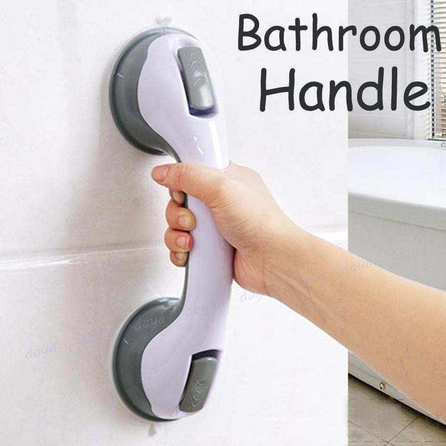 Bathroom Handle Safe Grip Handrail Bath Helping Vacuum Bar For Toddle Elderly Shower Wall Suction Cup Grab Bars Offer Safe Grip With Strong Hold Balance Assist Non Skid Support By Dayatech.