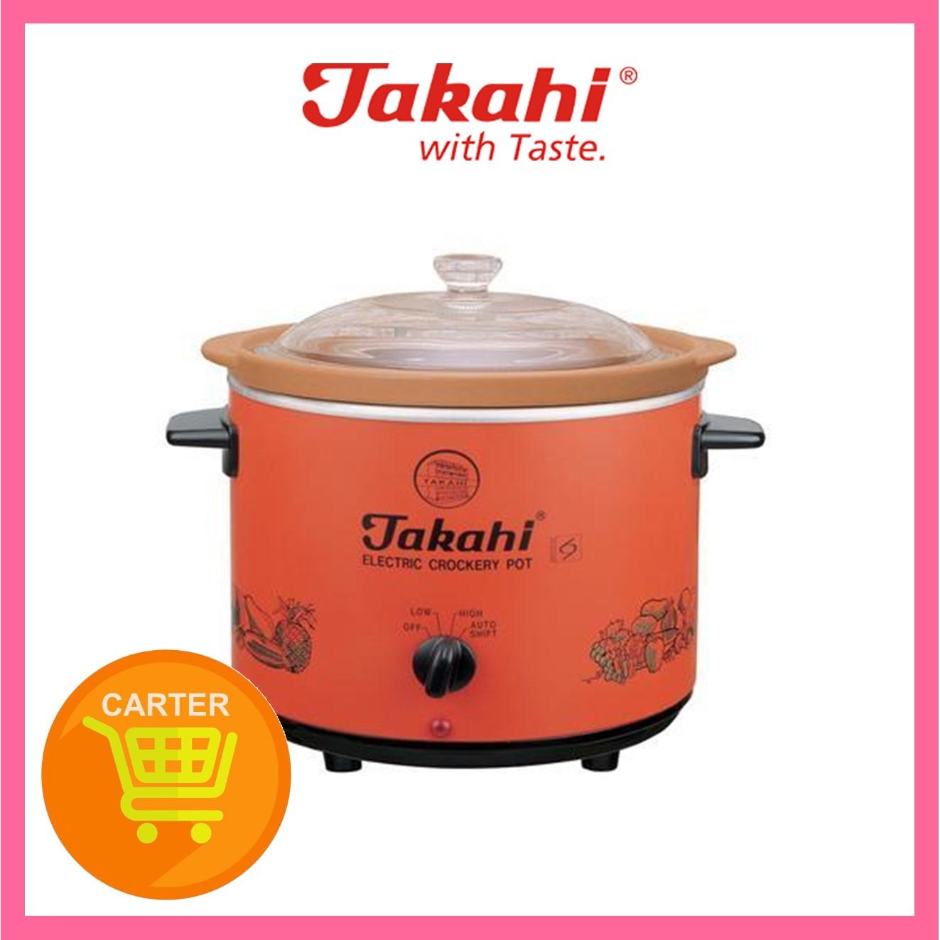 TAKAHI 2404 (R) H/HEAT 3.5L SLOW COOKER