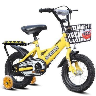 16 Inch Children 4 Wheels Bicycle V1 Free Installation Lazada