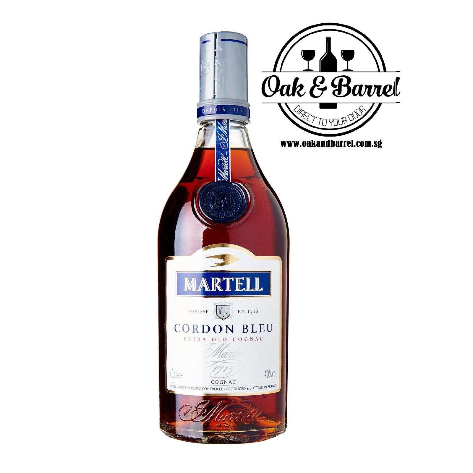Sale Martell Cordon Bleu 700Ml Martell Wholesaler