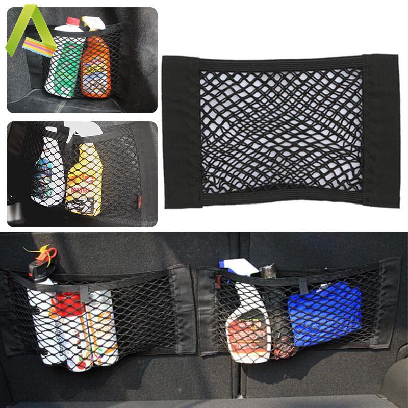 Aukey Store Car Rear Trunk Back Seat Elastic String Net Storage Holder Bag Pocket Cage - Intl By Aukey Store.