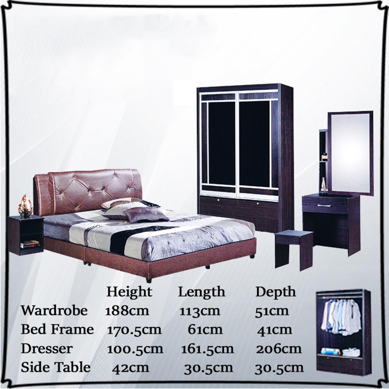 Jeanna Bedroom Set