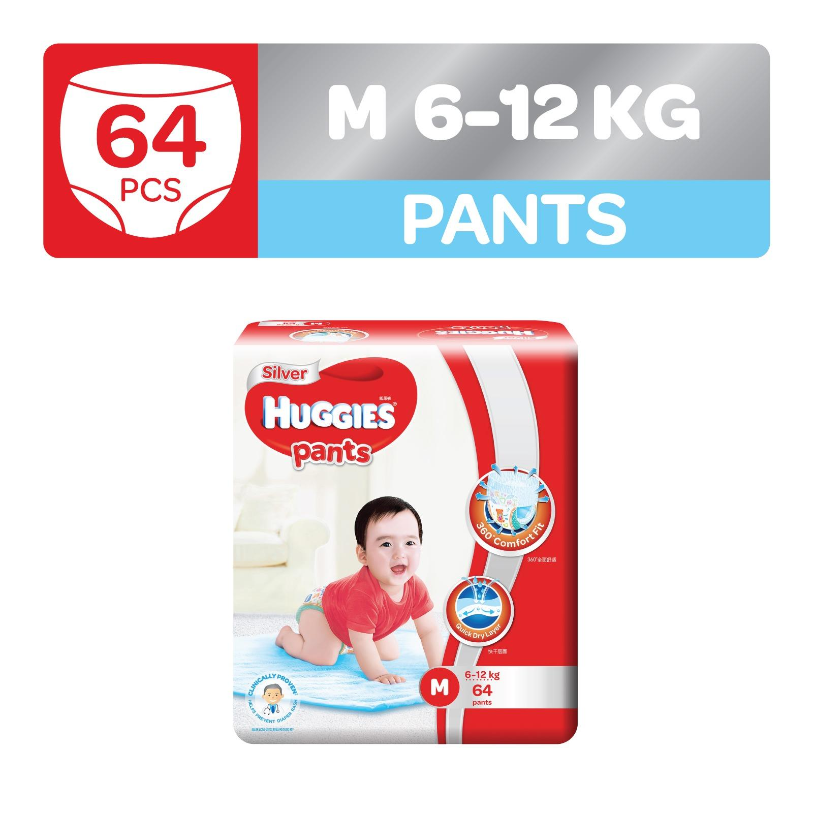 How Do I Get Huggies Silver Pants M 64Pcs