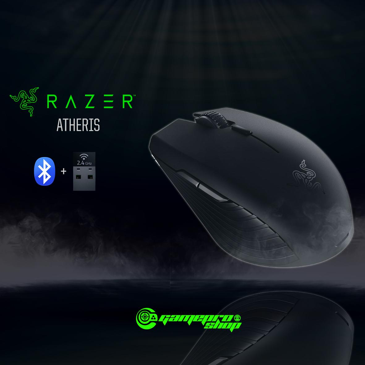 RAZER ATHERIS Gaming Wireless Bluetooth Mouse Singapore