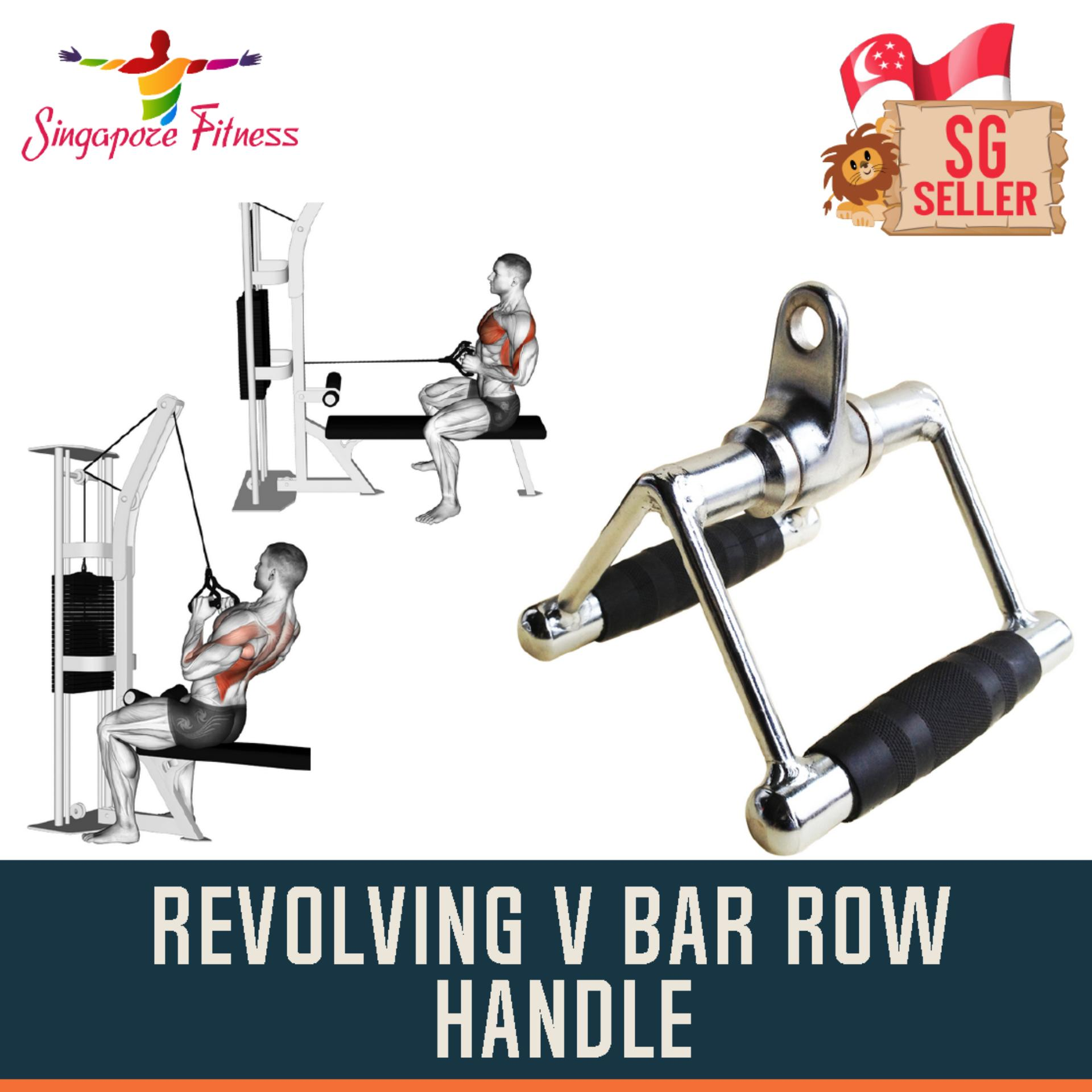 Buy Px Sports Revolving V Bar Row Handle Online