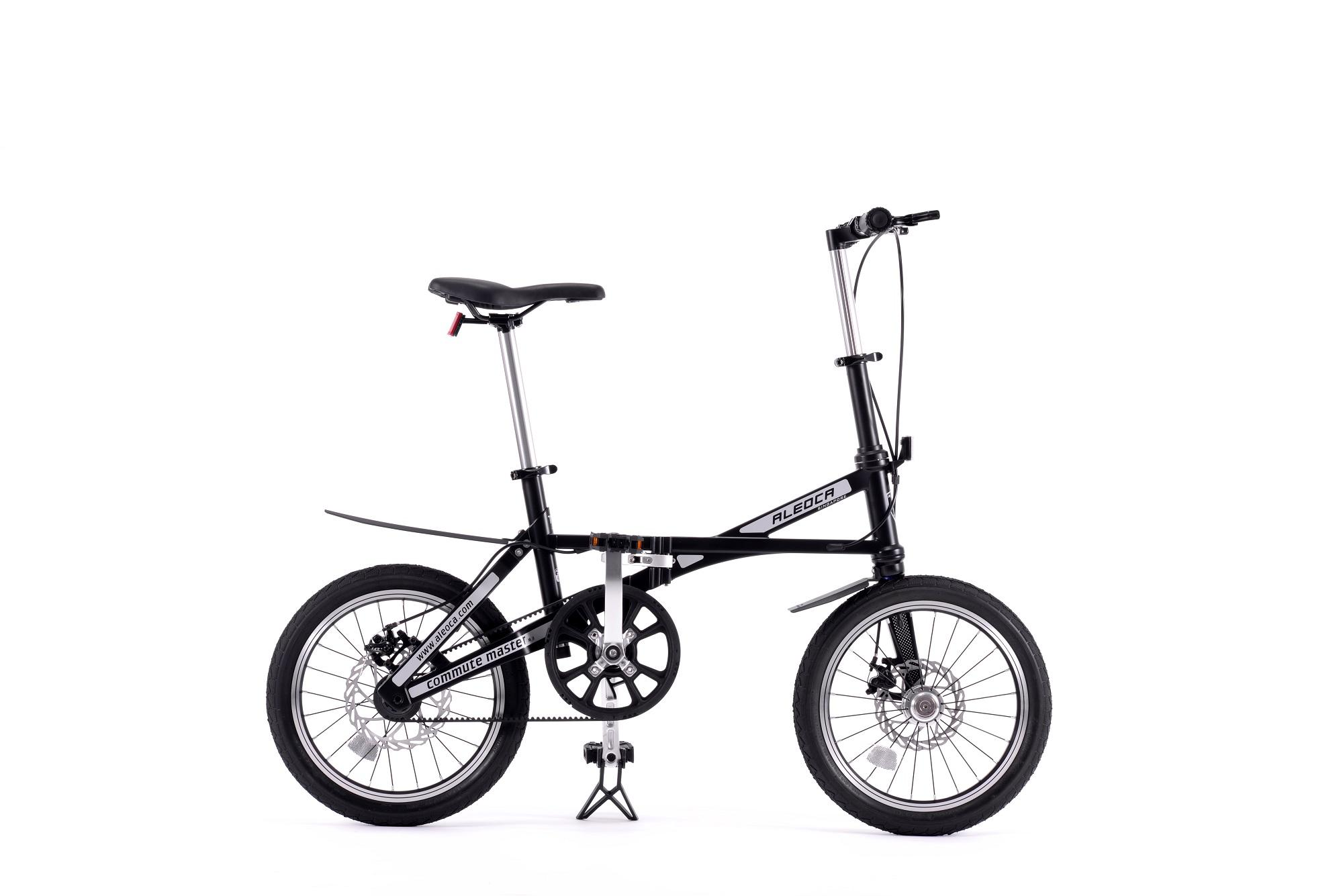 Aleoca 16 Carbon Fiber Folding Bike Commute Master (black) By Aleoca Pro Singapore.