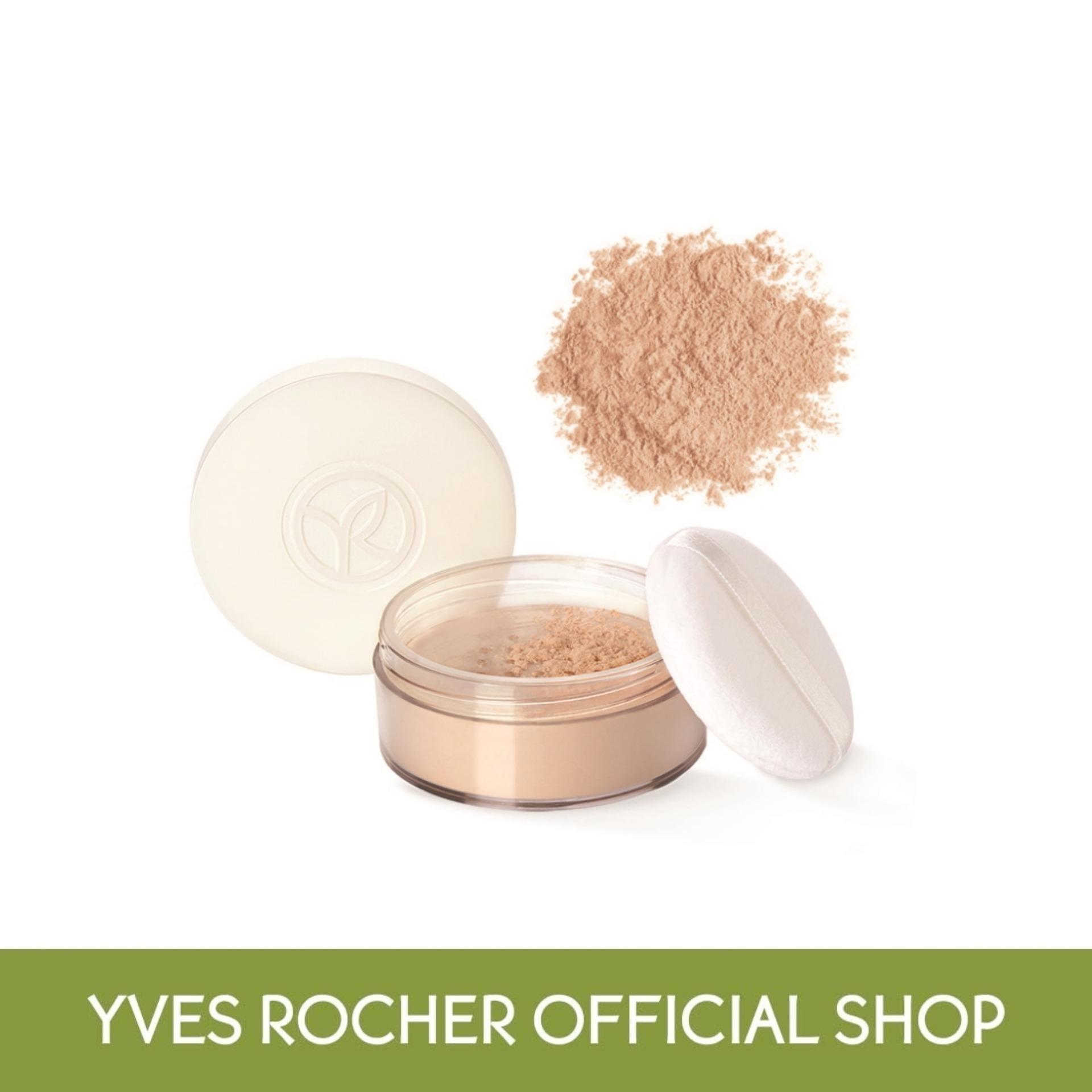 Yves Rocher Pure Light & Luminous Loose Powder Beige 15g (tf) By Yves Rocher Singapore (capitaland Merchant).
