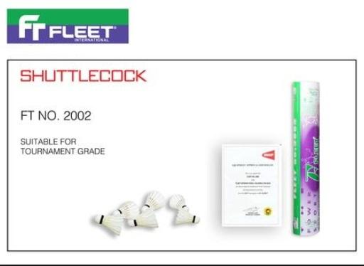 Fleet Shuttlecock Ft 2002 Tournament Grade By Kakifootball.