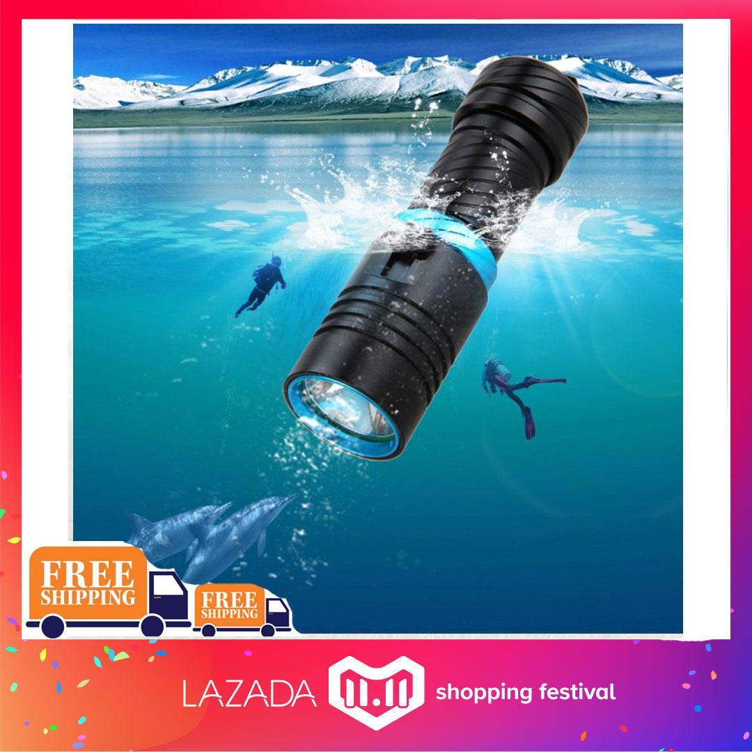 G-gourd 2017 Super 5000Lm LED Diving Flashlight T6 Waterproof Dive Underwater 100 Meter Scuba
