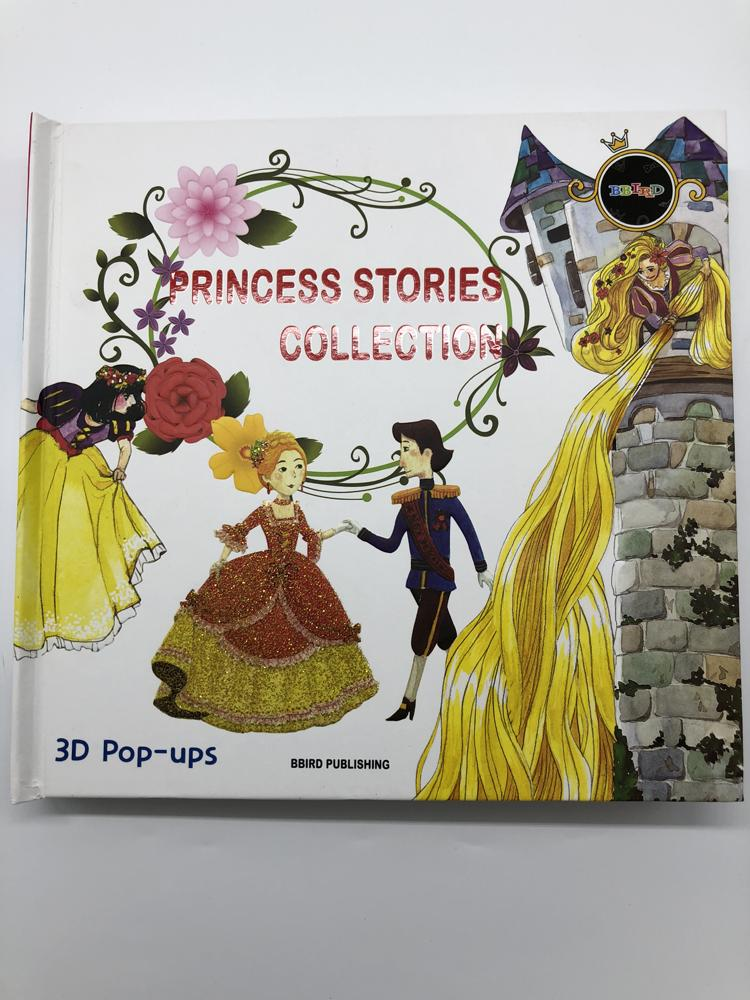 Princess Stories Collection - 3D Pop Ups Book
