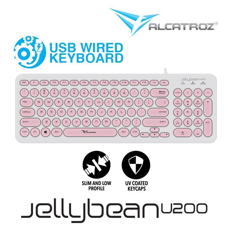 Alcatroz USB Wired keyboard JellyBean U200 Singapore