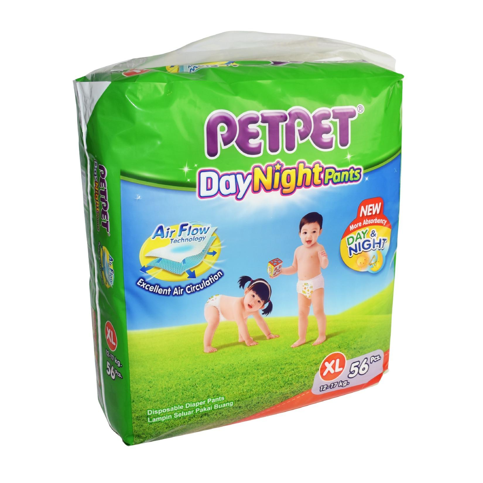 Petpet DayNight Pants Mega Pack XL56 x 3 Packs