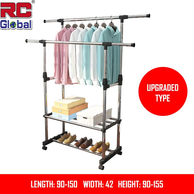 Rc-Global Clothes Rack / Clothes-Horse / Clothes Rack / Clothes Drying Rack / Clothes Hanger / Clothes Dryer / Clothes Hanging Stand / Clothes Hanging Rack / Clothes Stand By Rc-Global.