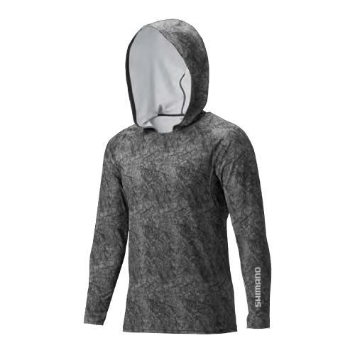 Shimano Long Sleeves Inner Shirt With Hoodie By Shimano Fishing (singapore).