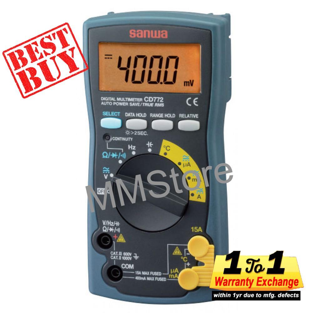 Who Sells Sanwa Digital Multimeter Cd772 Cheap