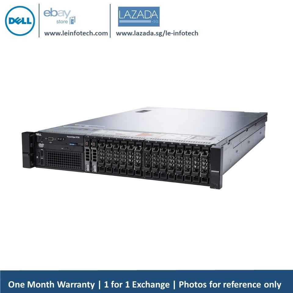Price Dell Poweredge R720 Server 12 Core E5 2640 2 5Ghz 128Gb Ddr3 4 X 450Gb Oem Sas Hdd Perc H310 Idrac7 Enterprise Support To 12X 2 5 Hdd Warranty Singapore