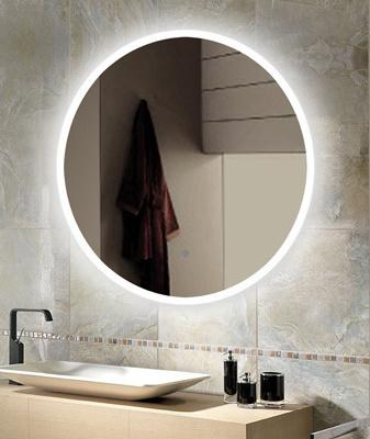 Matt white frame Bathroom LED Wall Mirror New Modern Colors Home Decor Household 600mm