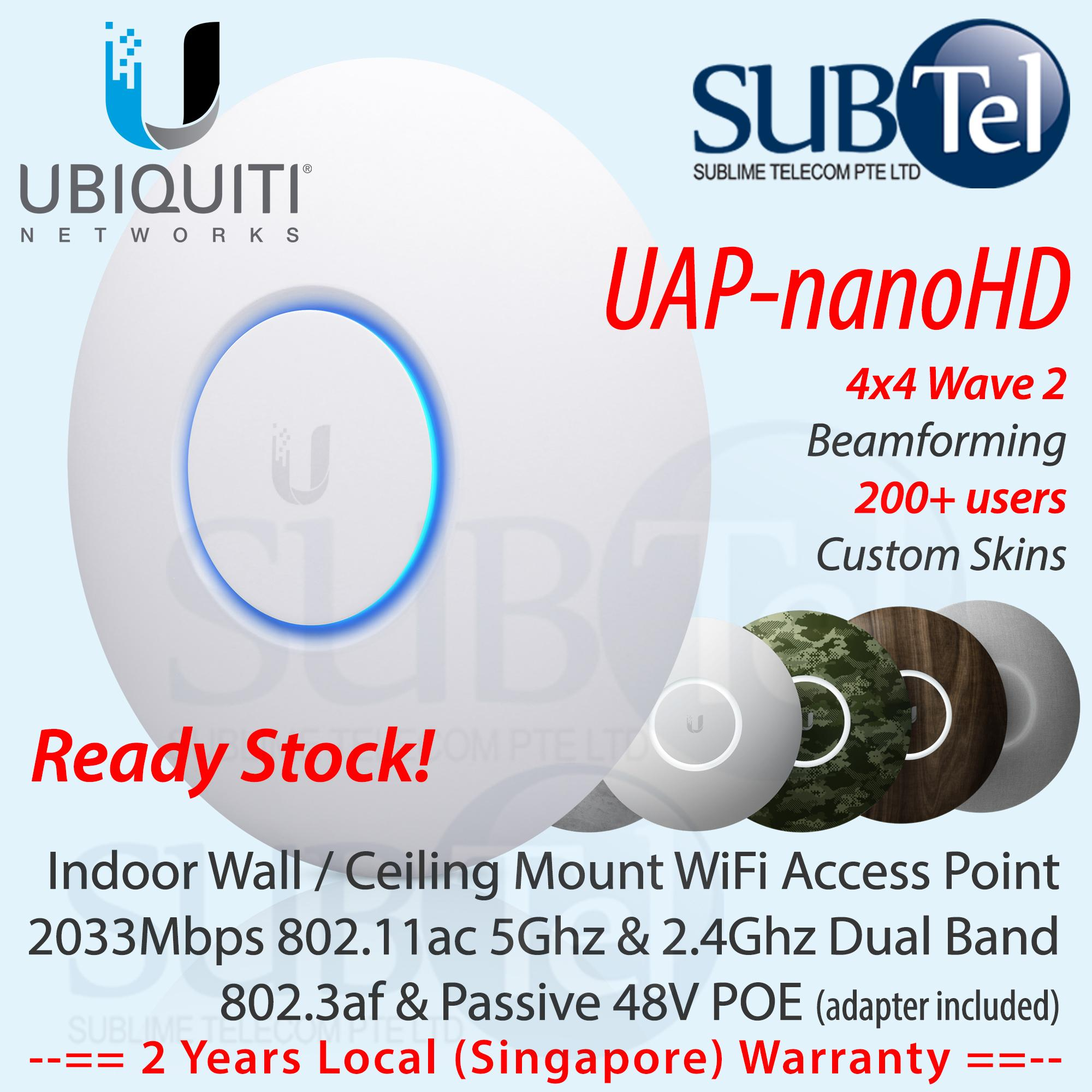 Ubiquiti Networks Access Points Lazada Wiring Diagram Uap Nanohd Latest Unifi Nano Hd Dual Band Point 4x4