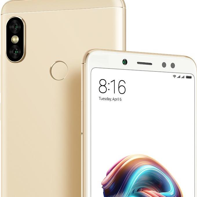 Latest Xiaomi Redmi Note 5 Pro 4Gb 64Gb Dual Sim Gold Brand New Export Set With 6 Months Warranty