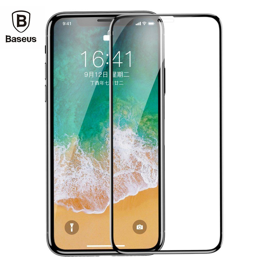 Buy Top Screen Protectors Mobiles Tempered Glass Iphone 6 6s Plus 3d Full Cover Clear 4d Premium Baseus Xs Max X Xr Arc Protector