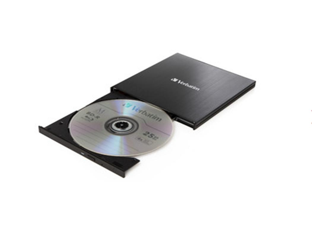 Verbatim External Slimline USB 3.0 Blu-ray Writer