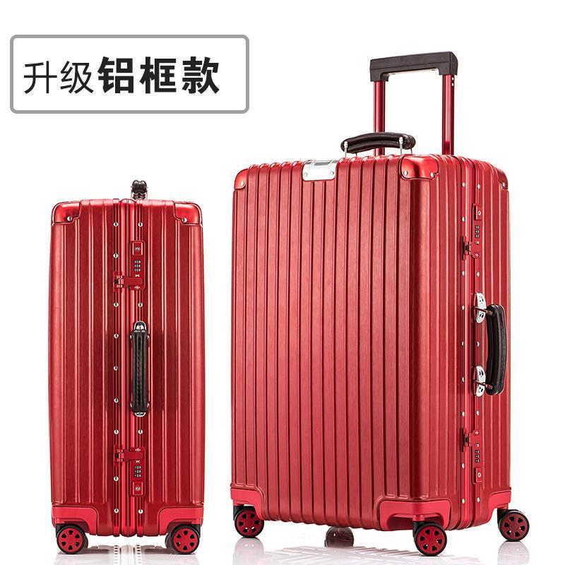 AS Universal Wheel Trolley case, Vintage Waterproof Suit case