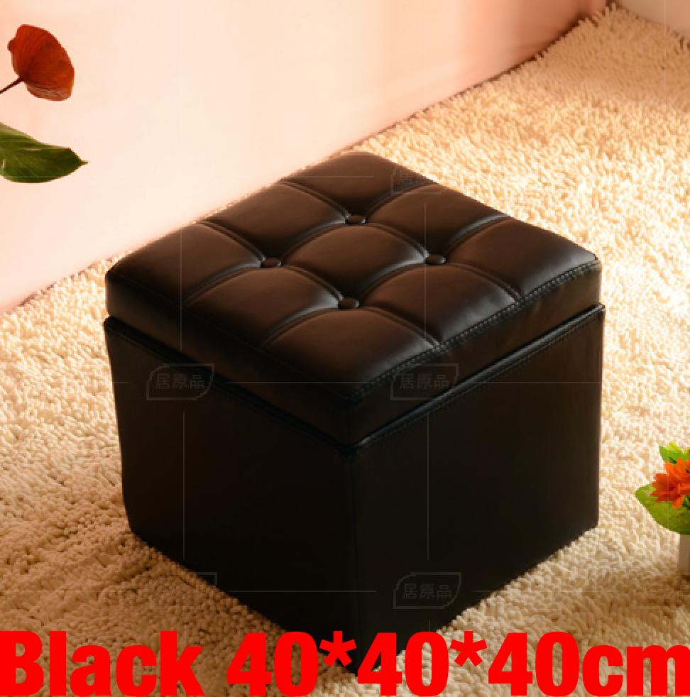 Umd Type C Pu Leather Storage Ottoman Storage Box Storage Bench With Large Storage Capacity Coupon
