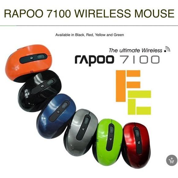 Rapoo 7100 2.4GHz Optical Wireless Mouse for PC Laptop