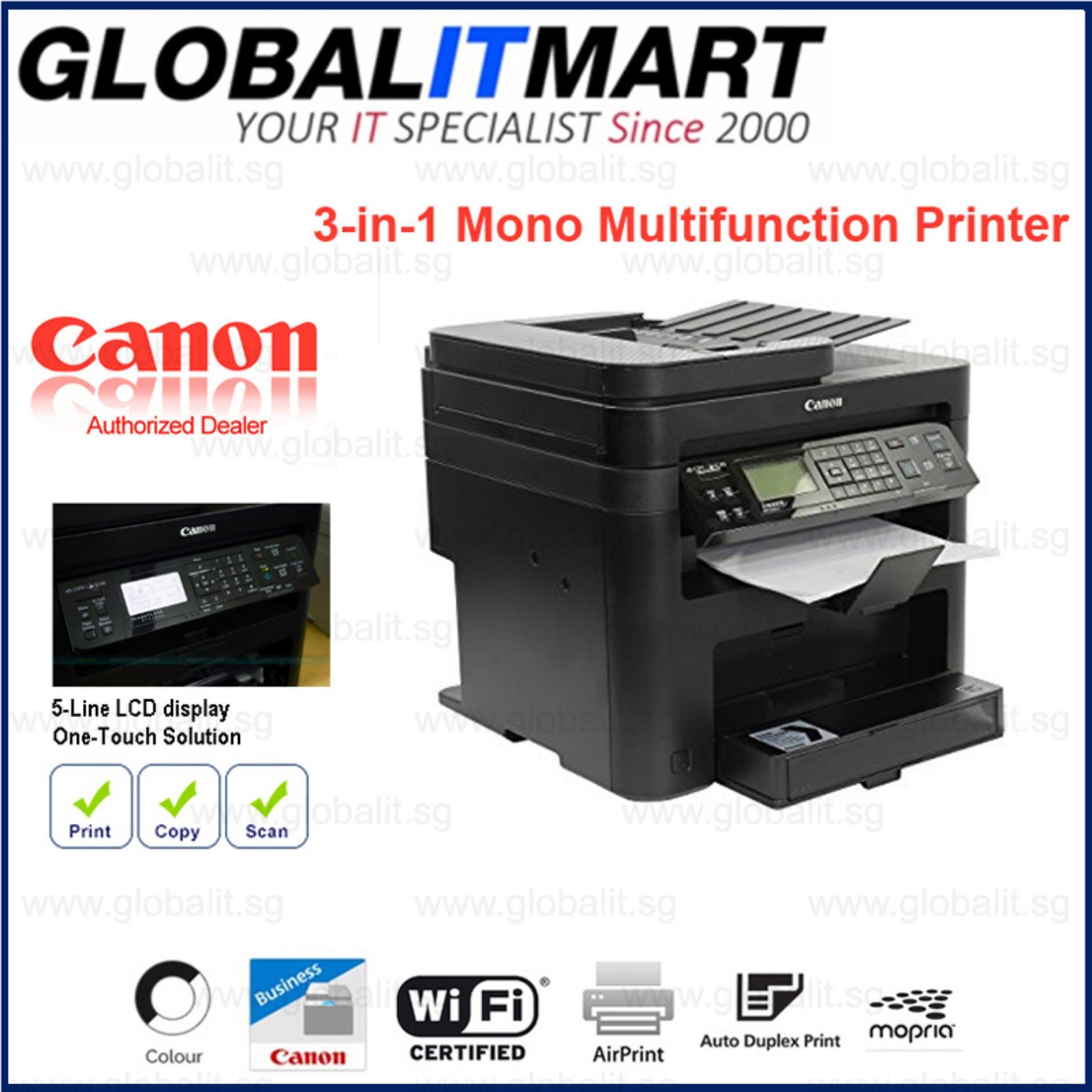 Sale Canon Imageclass Mf244Dw 3 In 1 Mono Multifunction Printer Canon On Singapore