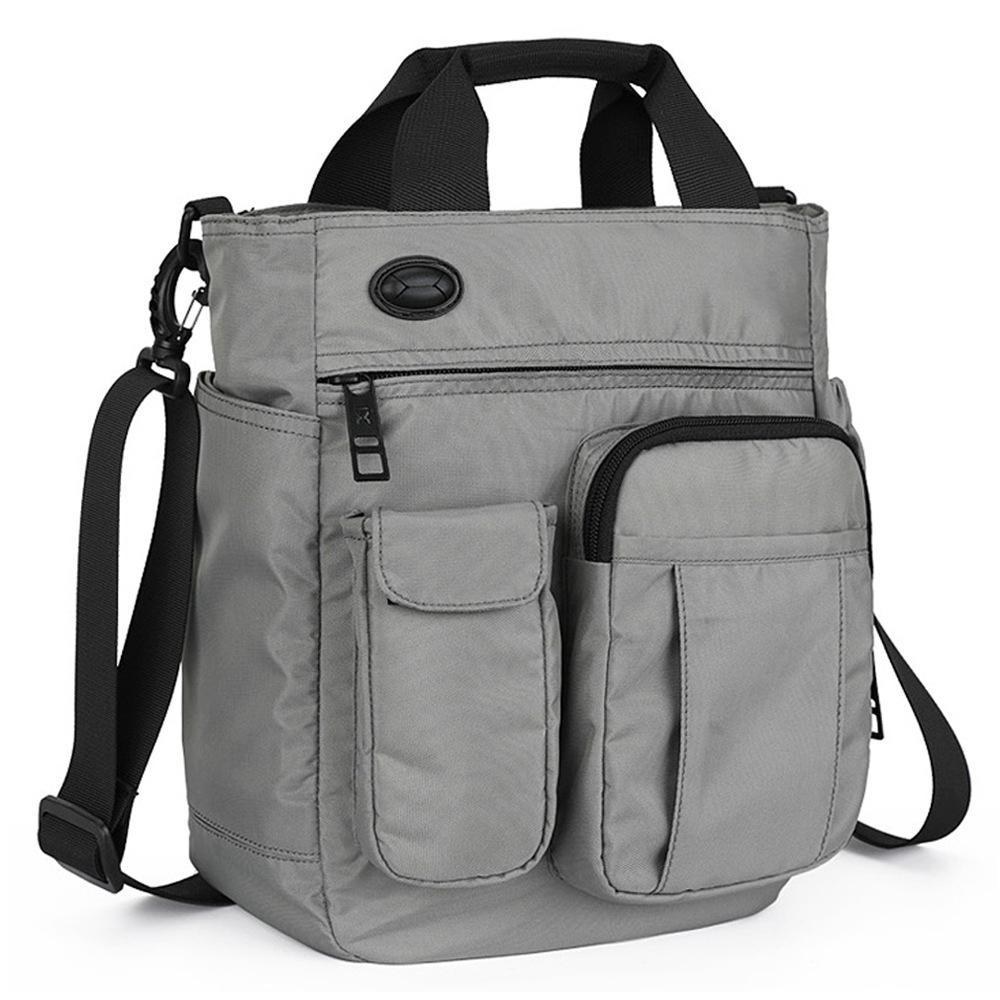 2019 New Style Mens Single-shoulder Bag Shoulder Bag Mens Bag Oxford Cloth Leisure Bags Multi-functional Handbag Korean Style Fashion
