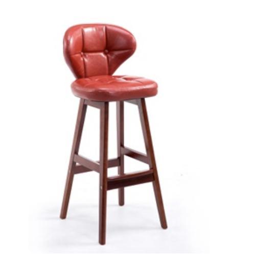 JIJI Alvaro Leather Chair Stools 78CM (Free Installation) - Bar Chairs / Bar Stools / high chair /Designer dining Chair /Bar high chair/ Furniture Chair  Free 12 Months Warranty (SG)