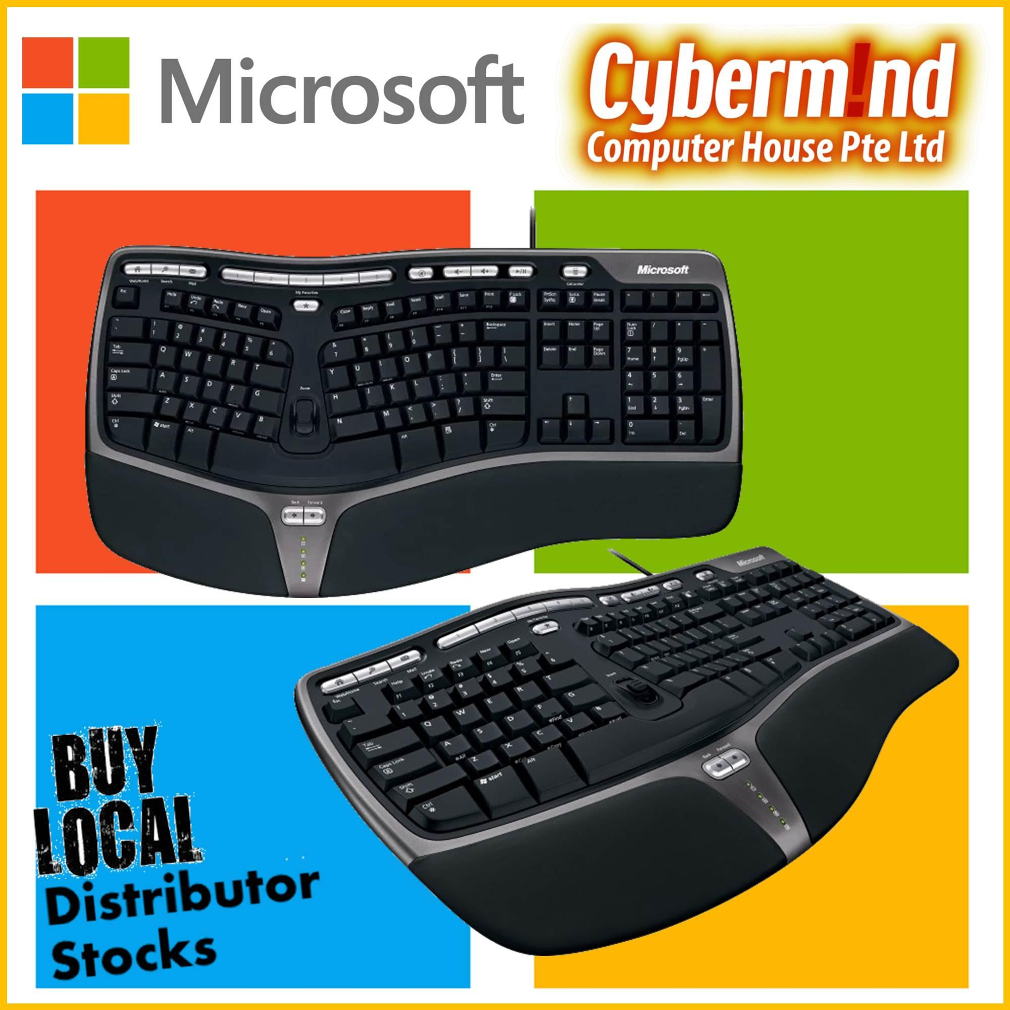 Microsoft Natural Ergonomic Keyboard 4000 (USB / Wired)