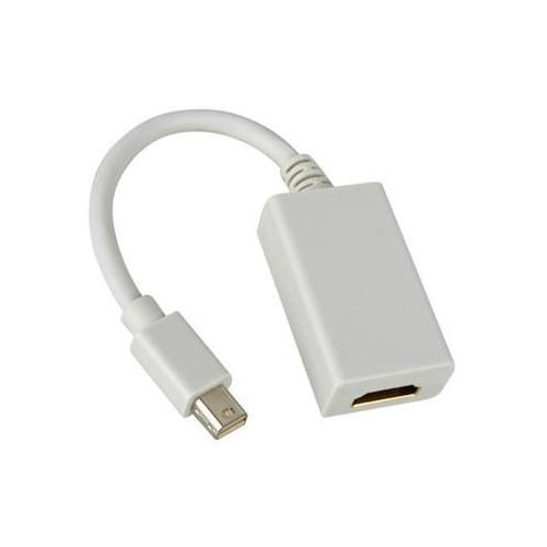 MINI DISPLAYPORT TO HDMI, Mini DP to HDMI ADAPTER w/SHORT CABLE (20cm)