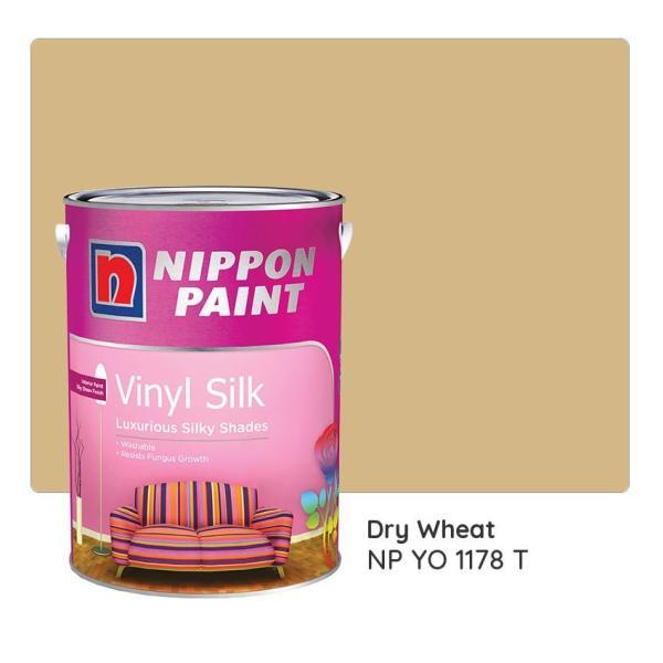 Nippon Paint Vinyl Silk NP YO 1178 T 1L