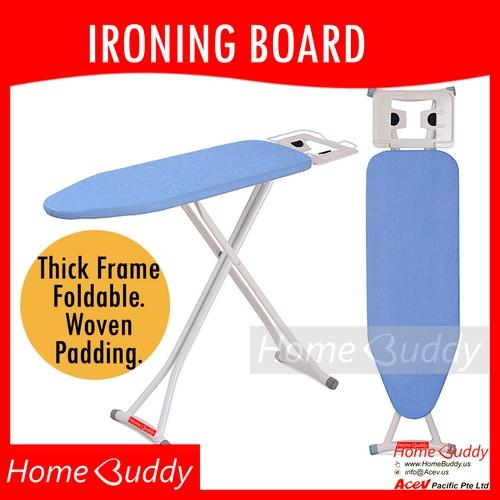Ironing Board Blue Thick Frame Foldable Height Adjustable 10 000 Sold Ready Stocks Sg Reach You 2 To 4 Work Days Homebuddy Acev Pacific Coupon