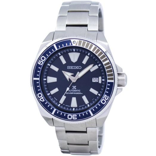 Discount Seiko Prospex Japan Made Sea Series Air Diver S Automatic Silver Stainless Steel Band Watch Srpb49J1 Seiko Singapore