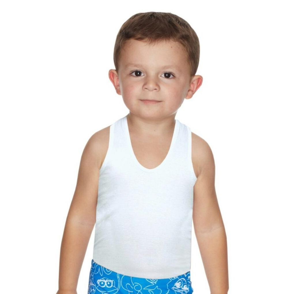 c1926928 ... T-Shirts & Shirts. Kids Cotton Singlet / Vest - 5 Pcs - 5 for $8