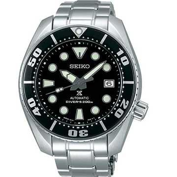 SEIKO PROSPEX SUMO BLACK DIAL AUTOMATIC MENS DIVER WATCH SBDC031
