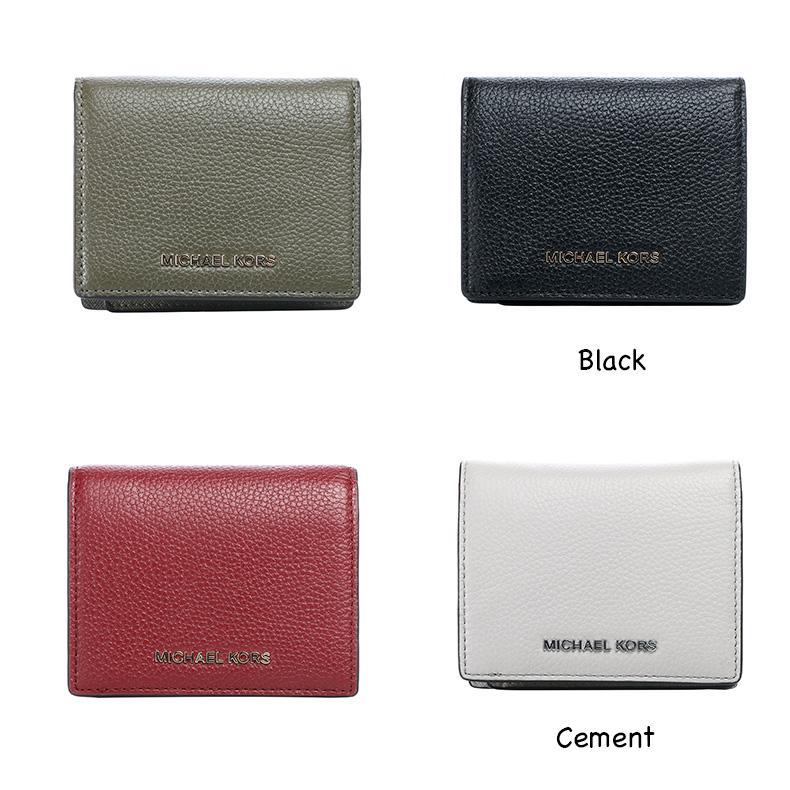 2d838e04fde0 MK Michael Kors Mercer Leather Card Case holder Vivianne Trifold Coin Case  leather wallet 32T7GM9D1L 35F7GVAP3L