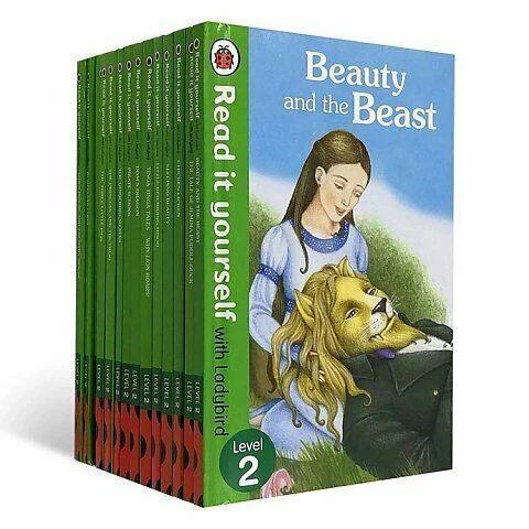 [16 Books] Ladybird Read It Yourself Level 2 Children English Story Books Kids Christmas Gift