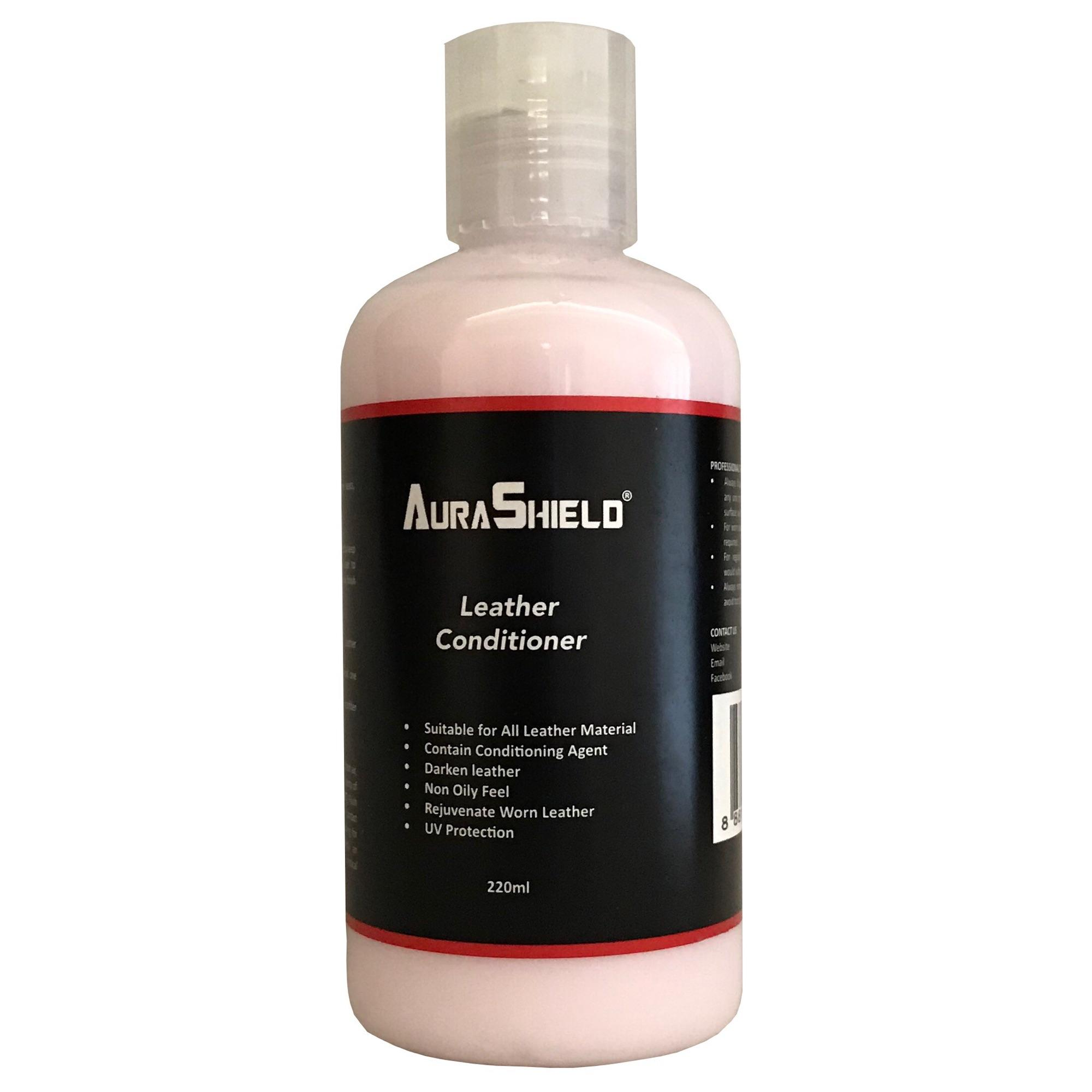 Aurashield Leather Conditioner 220Ml Aurashield Cheap On Singapore
