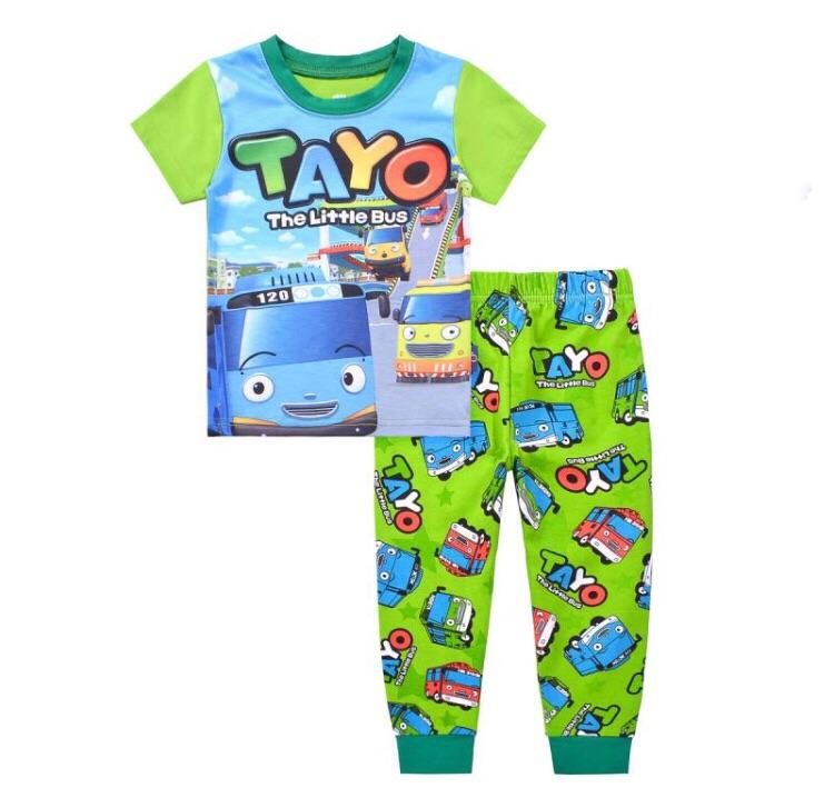 Sale Kids Clothes Tayo The Little Bus Pajamas Set Sleepwear