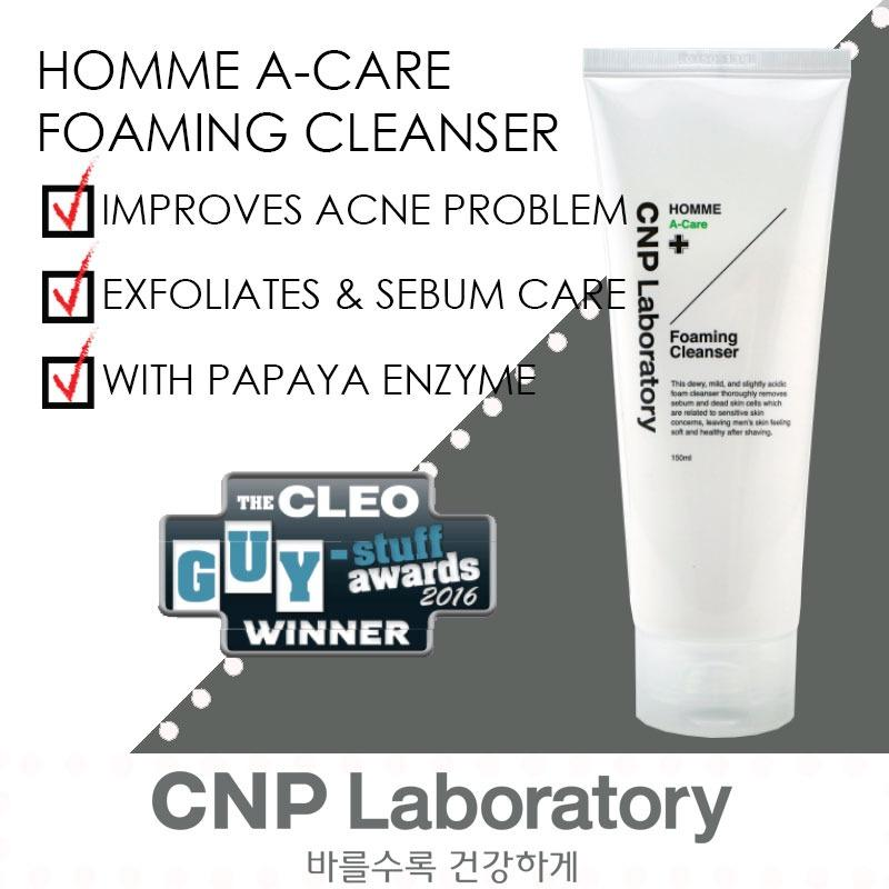 Get Cheap Cnp Laboratory Homme A Care Foaming Cleanser 150Ml