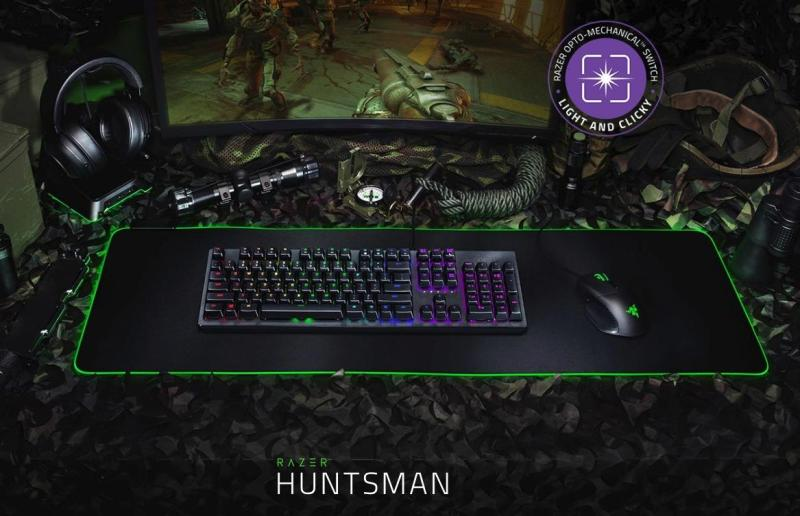 RAZER HUNTSMAN – OPTO-MECH GAMING KEYBOARD Singapore